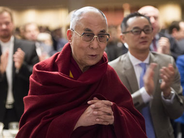 The Dalai Lama. AFP