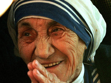 RSS said Mother Teresa helped the poor for converting them to Christianity. Reuters