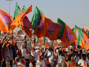BJP claimed to be the world's largest political party. AFP