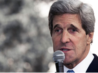 A file image of John Kerry. AFP