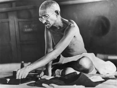 Scholars marked 100 years of Gandhi's return to India. GettyImages