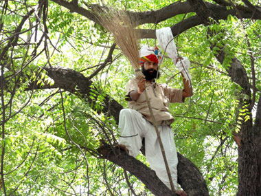 Gajendra Singh, the farmer who died in April, 2015. PTI
