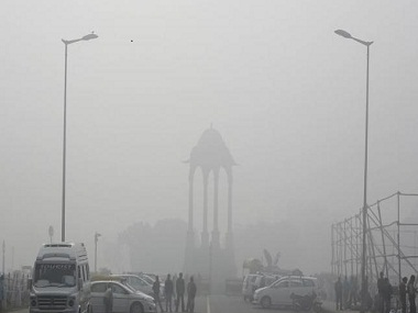Delhi's air is the most polluted in the world.