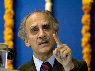 Former Union minister in Vajpayee's cabinet Arun Shourie.