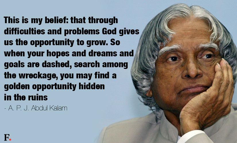Best Inspirational Quotes By Abdul Kalam: RIP Dr APJ Abdul Kalam: Memorable Quotes That Show Why