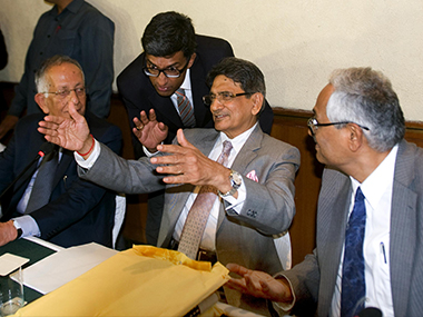 File picture of Justice RM Lodha (C). Naresh Sharma/ Firstpost
