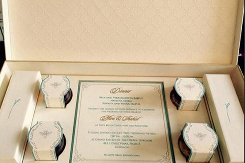 No Gifts Wedding: No Gifts Please! Wedding Card Reveals Shahid-Mira To Be