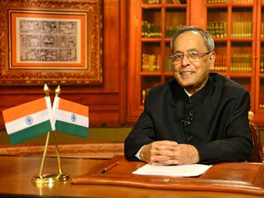 President Pranab Mukherjee expressed his concern over the recent Parliament logjam.