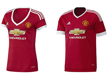 Manchester United, Adidas branded sexist as women's shirt ...