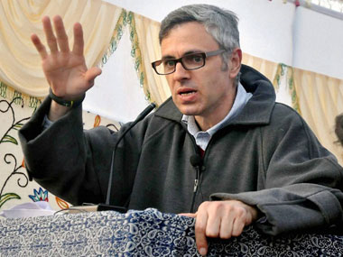 Omar Abdullah accused state govt of spying on him. PTI