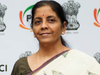 Commerce and industry Minister Nirmamala Sitharaman. Naresh Sharma/Firstpost