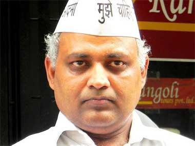 Somnath Bharti. Image courtesy: Facebook