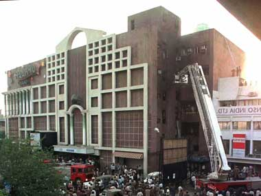 Uphaar cinema. Image courtesy: Reuters