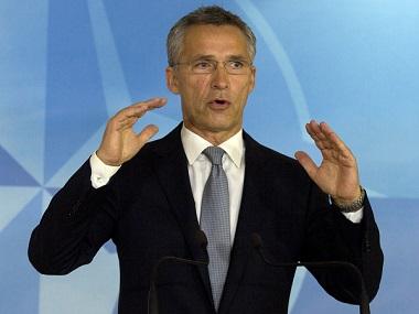 NATO Secretary General Jens Stoltenberg. AP
