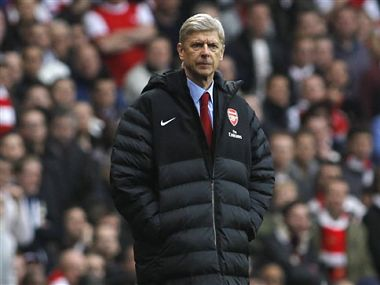File picture of Arsene Wenger. AP