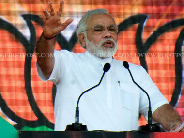 Narendra Modi in a file photo. Naresh Sharma/Firsrpost