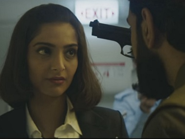 Sonam Kapoor in Neerja. Screengrab from YouTube.