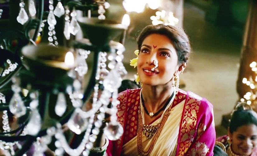 Priyanka Chopra. Bajirao Mastani Youtube Screen grab