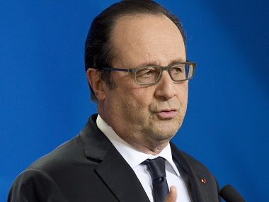 Francois Hollande. AFP