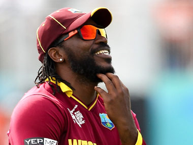 File photo Chris Gayle.  Getty Images