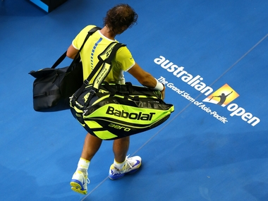 Rafael Nadal suffered a shock first round defeatin Melbourne. Getty