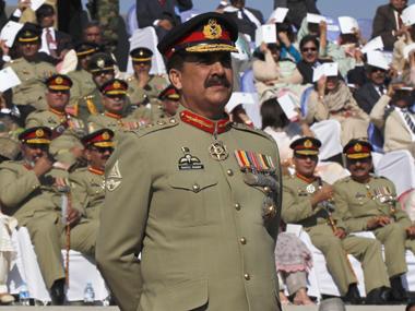 General Raheel Sharif in a file photo. Reuters