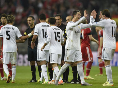 Real Madrid is back being richest. AFP