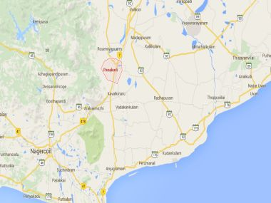 Panagudi is a panchayat town in Tirunelveli district in the Indian state of Tamil Nadu. Image Courtesy: Google Maps