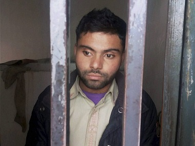 How could he even be an Indian spy? 22-year-old Umar Draz, in jail for hoisting Indian flag. PTI