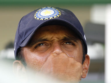 India U-19 coach Rahul Dravid in a file photo. Reuters