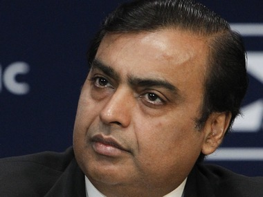 Mukesh Ambani, Chairman and Managing Director of Reliance Industries Reuters