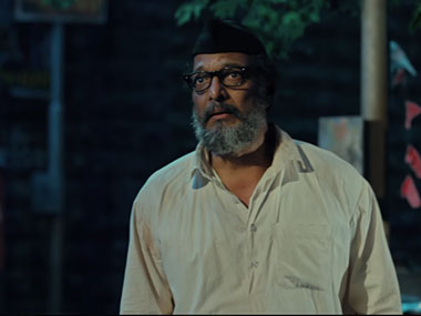 Nana Patekar in 'Natsamrat'. Image courtesy: Youtube