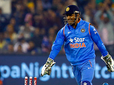 MS Dhoni. Getty Images