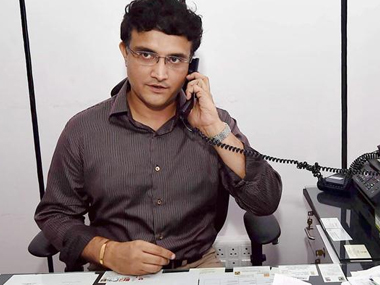 A file photo of Sourav Ganguly. PTI