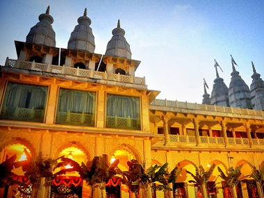 The Hare Krishna temple at Juhu, Mumbai. Image courtesy ISKCON