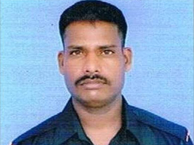 Lance Naik Hanamanthappa Koppad. Image courtesy Indian Army