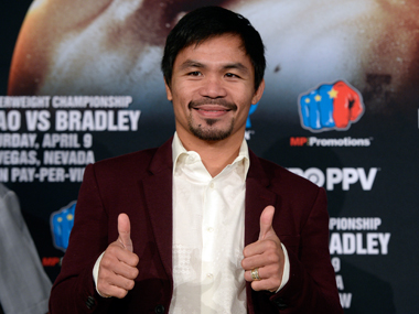 File photo of  Manny Pacquiao. Getty Images