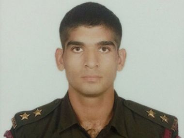 File image of Captain Pawan Kumar. Twitter @ANI_news