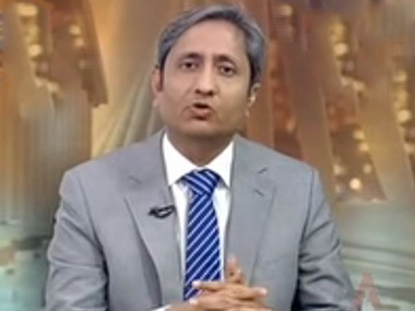 Senior journalist Ravish Kumar. Screengrab from YouTube video