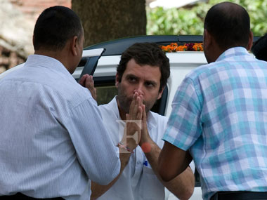 Congress vice-president Rahul Gandhi. Image courtest: Firstpost