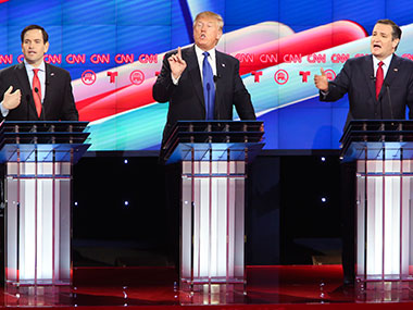 Republican Debate. Getty Images