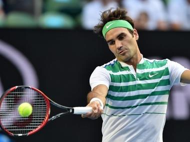 Roger Federer. AFP