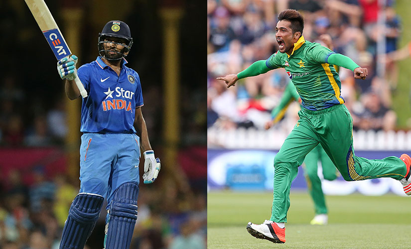 Rohit Sharma in top form. Mohammad Amir on a comeback trail. Getty Images