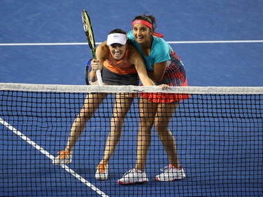 Sania Mirza and Martina Hingis have been on a roll. Getty