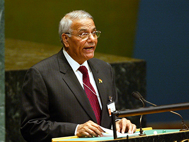 Former finance minister Yashwant Sinha. Getty Images