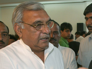 Bhupinder Singh Hooda. File photo. Image courtesy: IBNLive