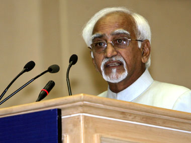 Hamid Ansari. Reuters