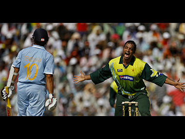 From Eden Gardens to Centurion, Shoaib Akhtar has had many memorable on-field battles with Sachin Tendulkar. Reuters
