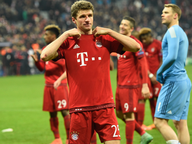 Bayern Munic completed a thrilling 4-2 victory over Juventus. AFP