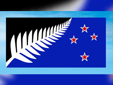 A new flag for New Zealand picked as a possible replacement for the new one. AP